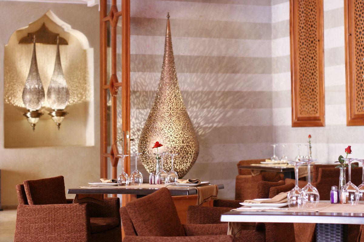 La maison arabe marracashcard for Decoration maison orientale